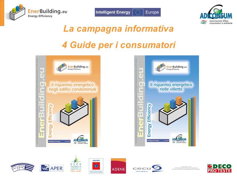 La campagna informativa 4 Guide per i consumatori