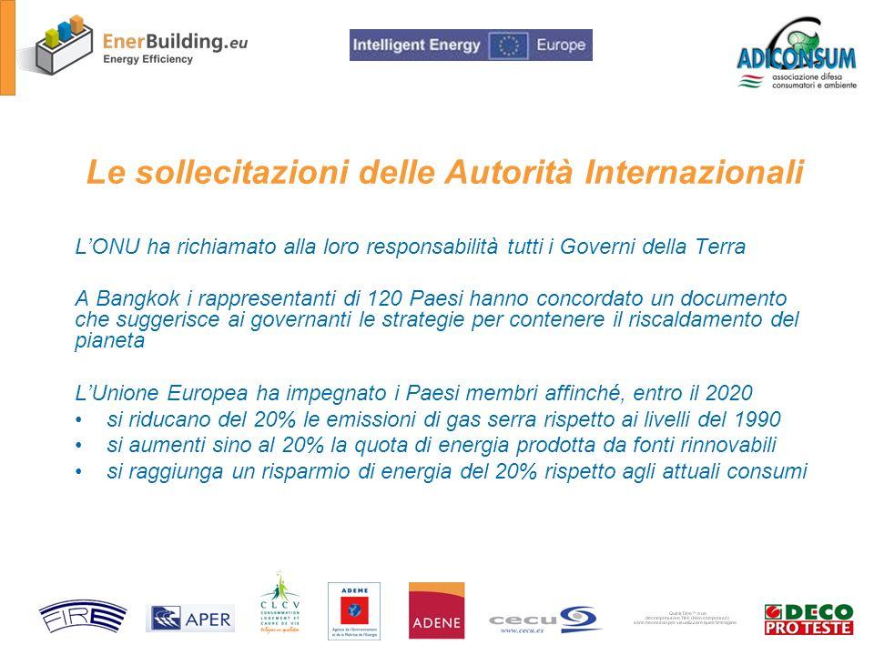Grazie per lattenzione www.adiconsum.it www.enerbuilding.eu Pieraldo ISOLANI Adiconsum - Responsabile settore Energia e Ambiente Project coordinator