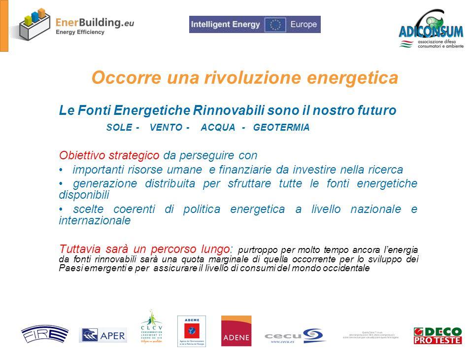 Il Risparmio energetico è la prima Fonte Rinnovabile disponibile SUBITO
