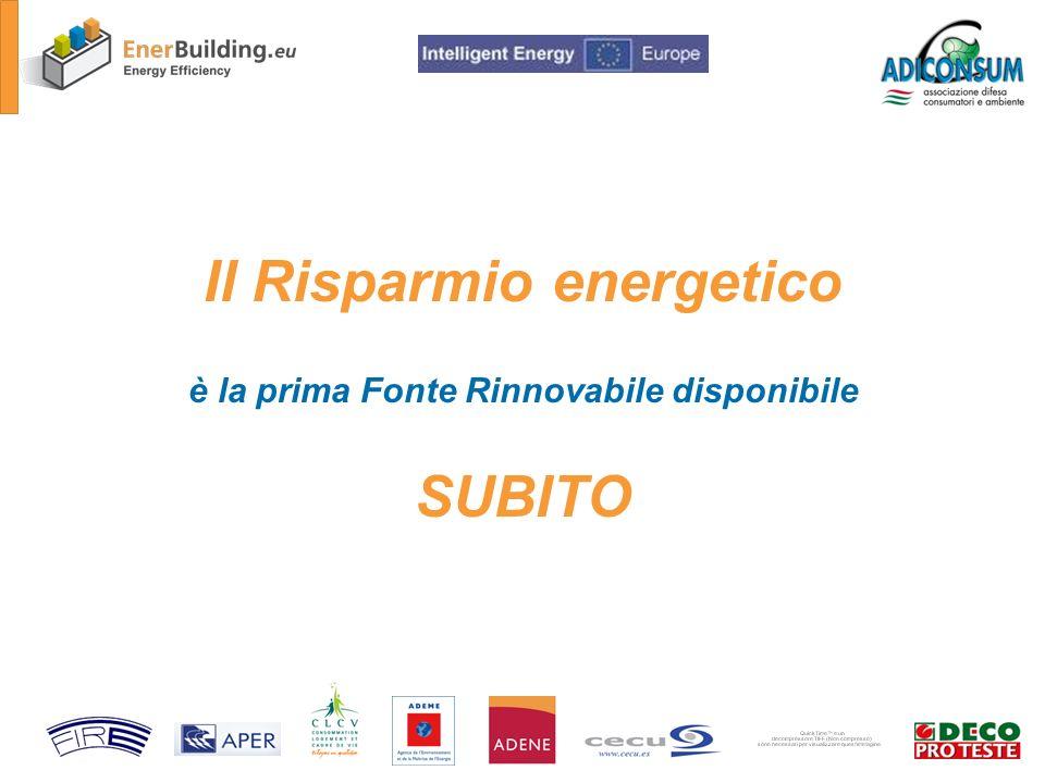 La campagna informativa Autodiagnosi energetica