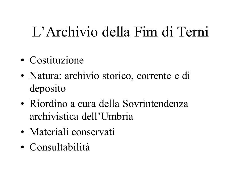 Una riflessione conclusiva Valore per la ricerca storica e promozione della tutela dei beni archivistici sindacali.