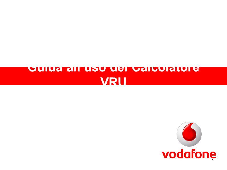 1 Guida alluso del Calcolatore VRU