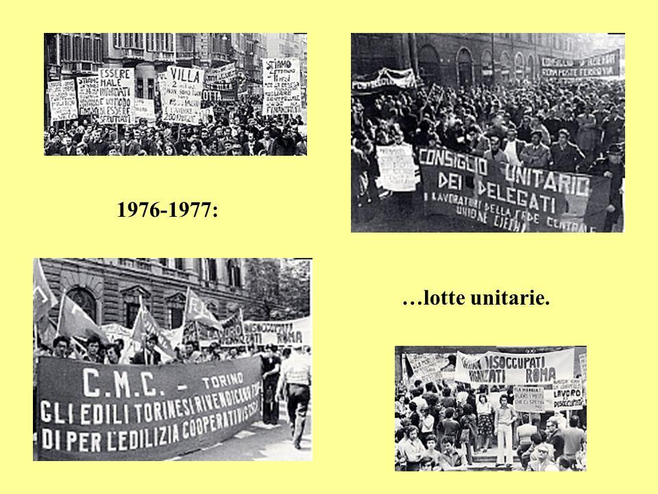 Roma,14-18 giugno 1977: 8° Congresso confederale della Cisl.