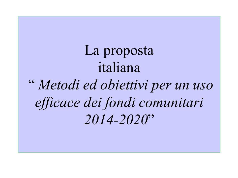 Regolamenti e priorità attraverso i Vincoli di allocazione delle risorse- FESR ambito FESR (art.