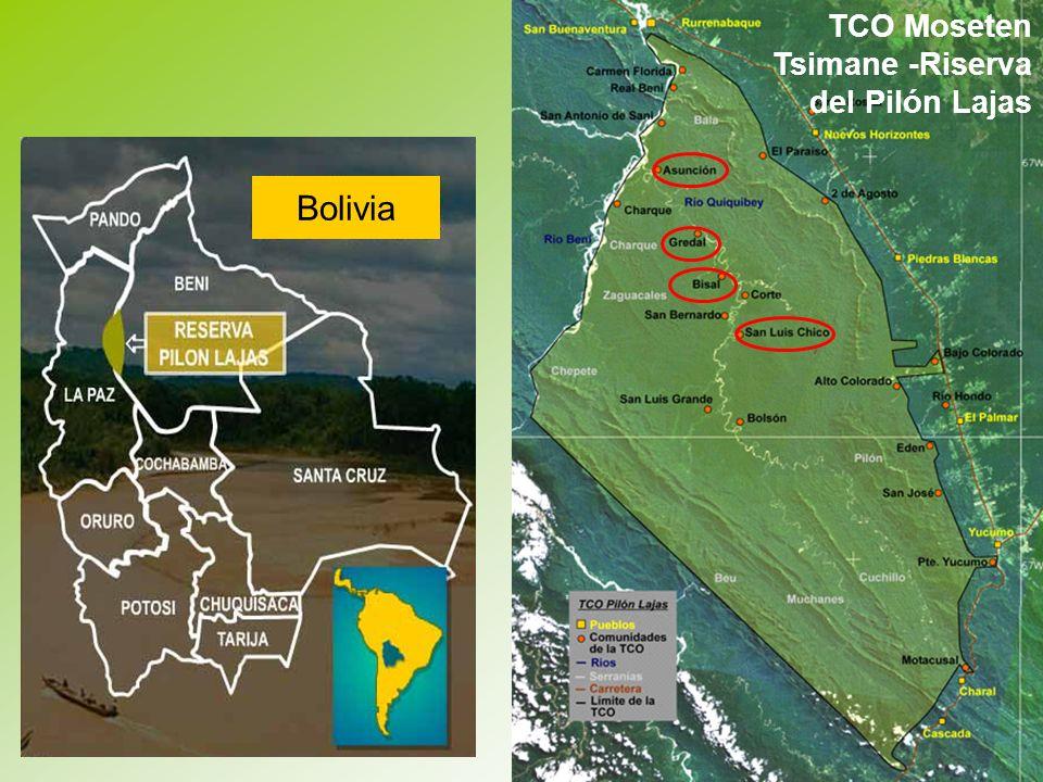 Bolivia TCO Moseten Tsimane -Riserva del Pilón Lajas