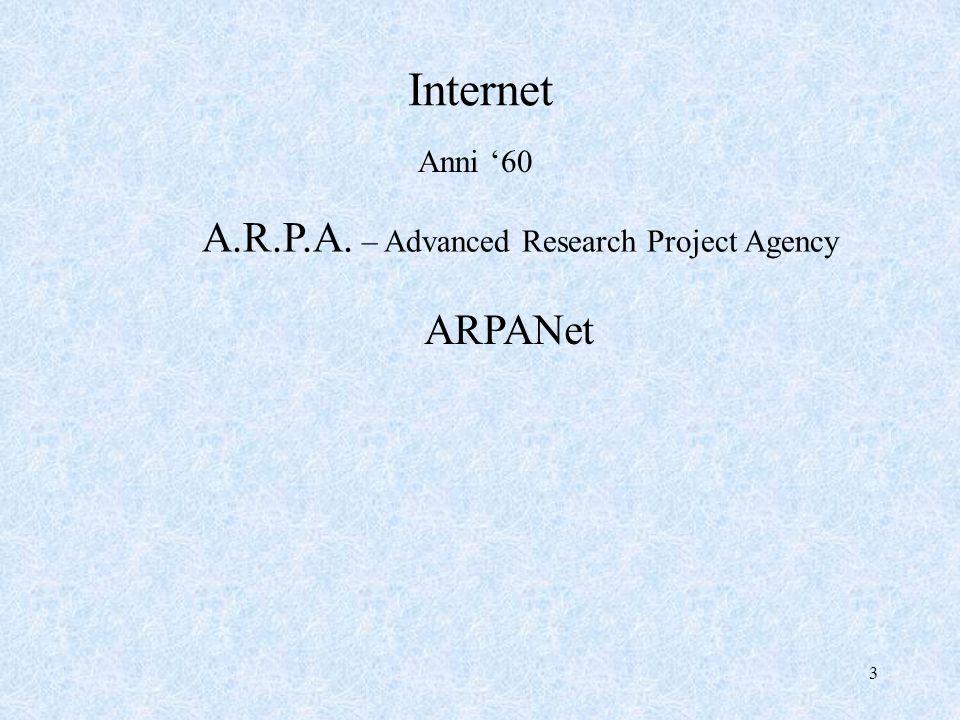 4 Protocollo universale TCP / IP Transfer Control Protocol / Internet Protocol