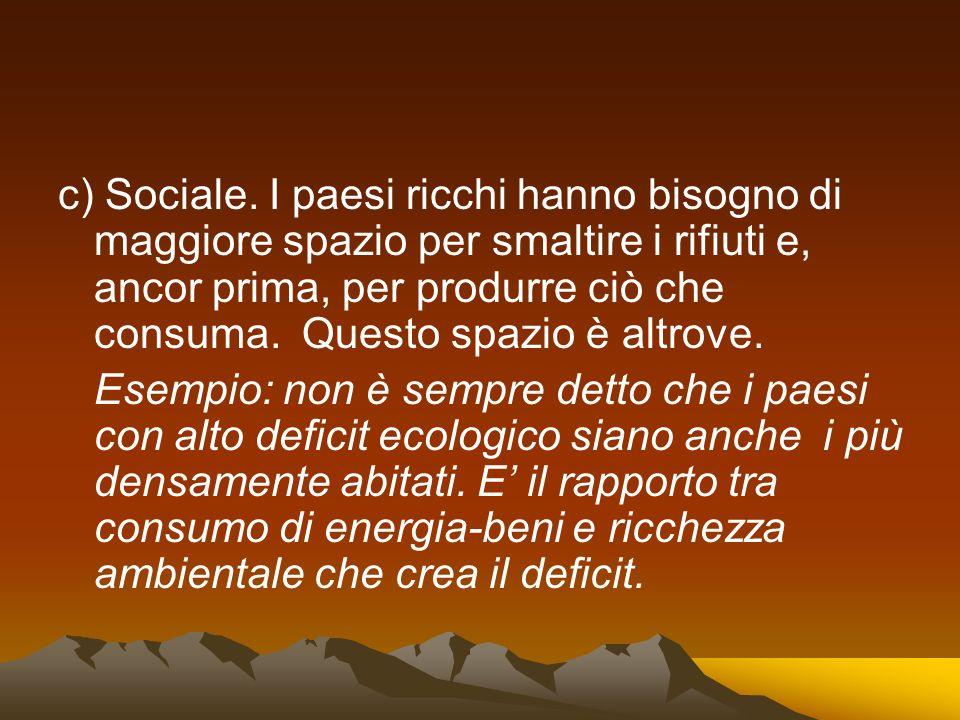 c) Sociale.