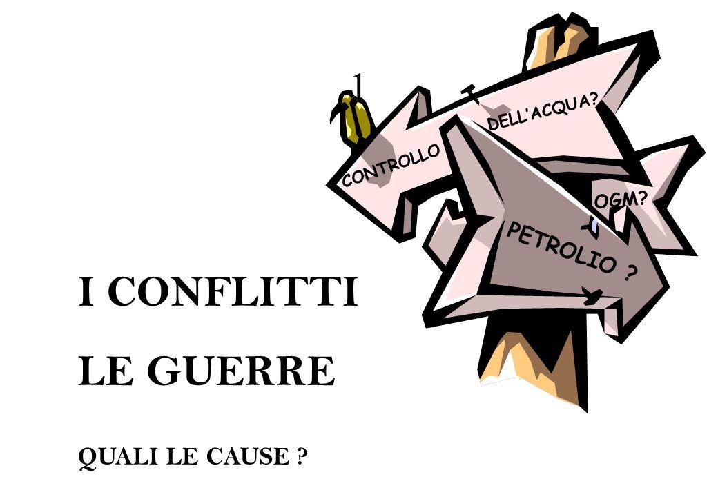 12 LA NATURA CAUSA DI CONFLITTI .IL G.R.A.I.N.