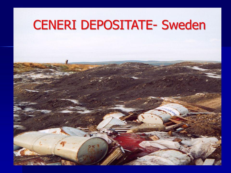 CENERI DEPOSITATE- Sweden