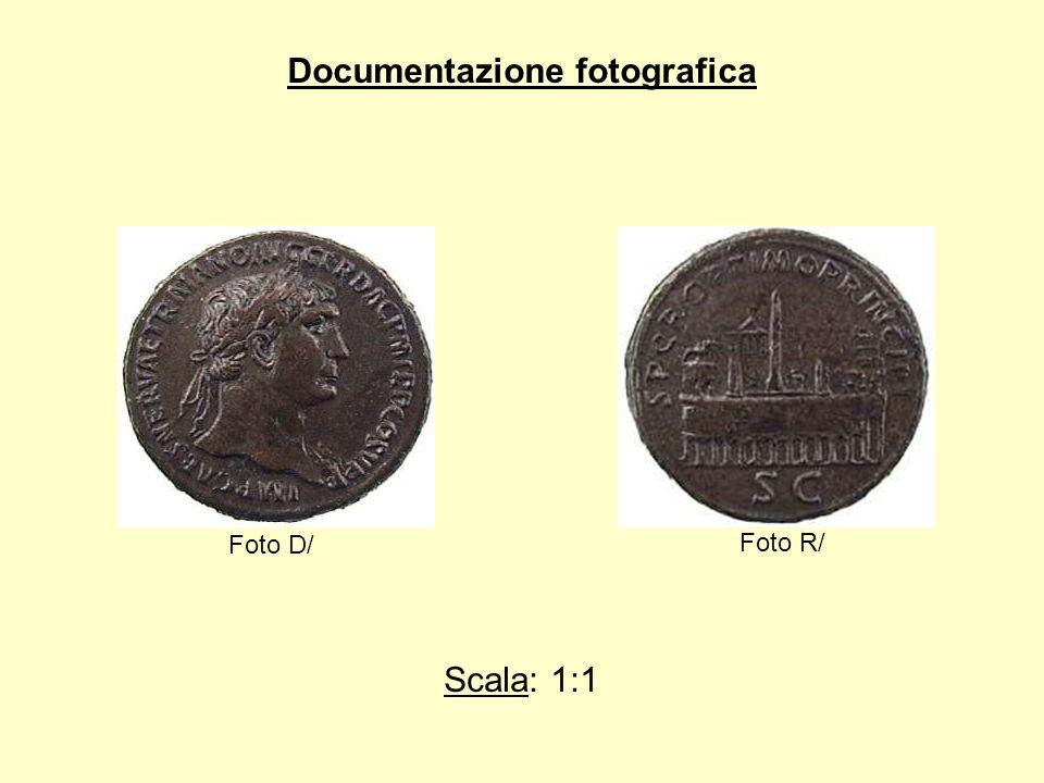 Documentazione fotografica Foto D/ Foto R/ Scala: 1:1