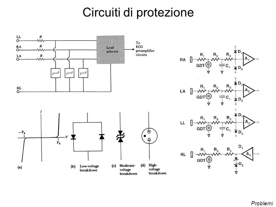 Circuiti di protezione Problemi