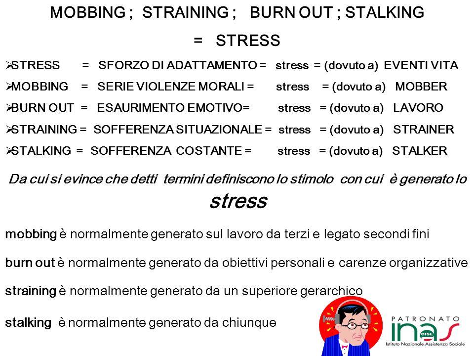 Cosa è lo STRESS ? Lo stress è parte del nostro vivere sia negli eventi positivi sia nelle avversità. Se non provassimo nessuna forma di stress, non s