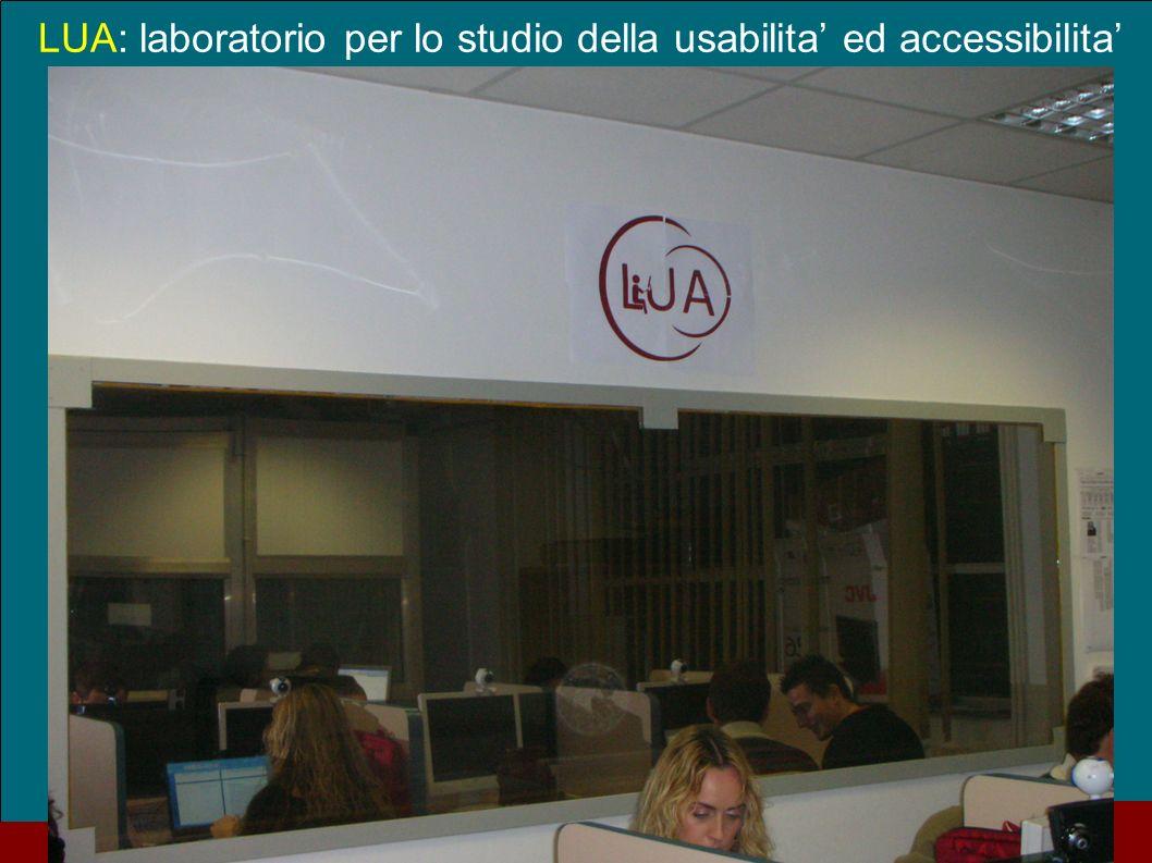 Sep. 09 Casa dellAviatore 24 LUA: laboratorio per lo studio della usabilita ed accessibilita