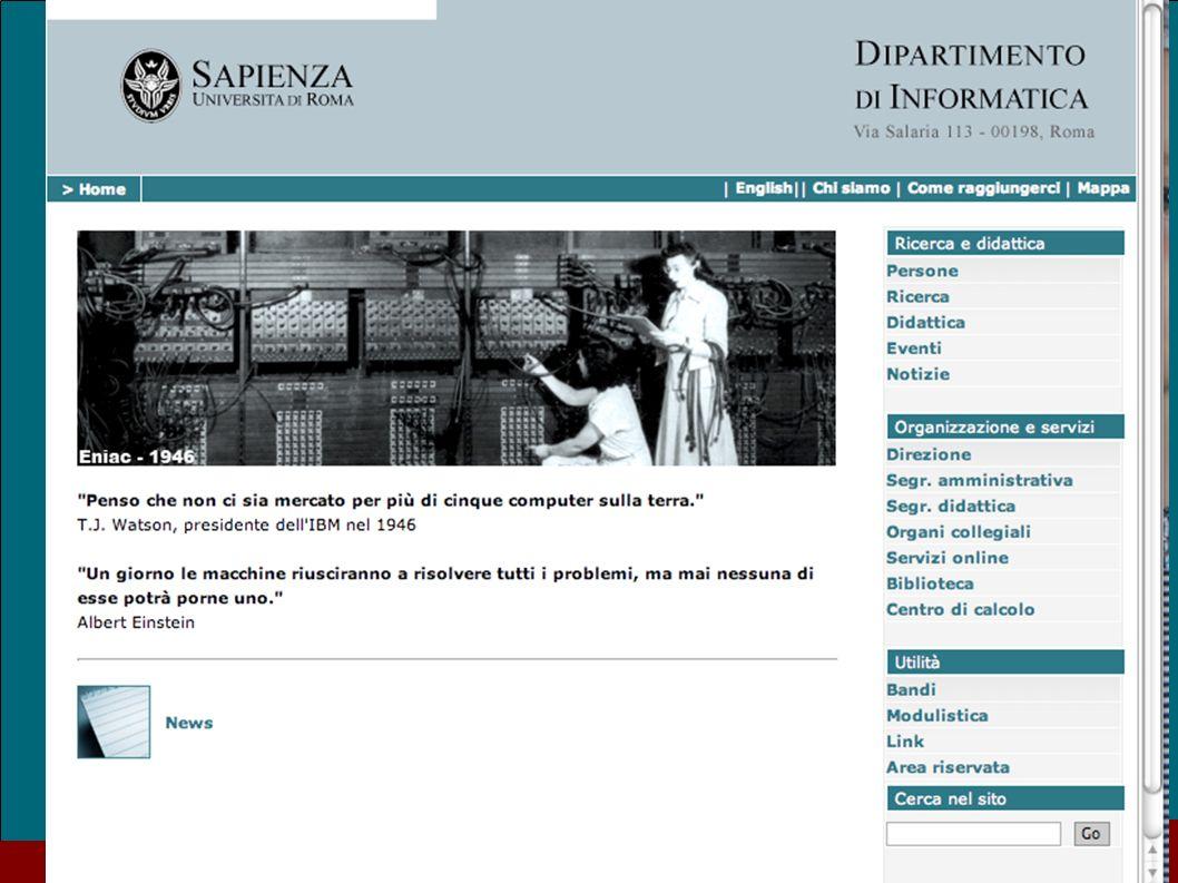 Sep. 09 Casa dellAviatore 27 Il nuovo sito del Dipartimento