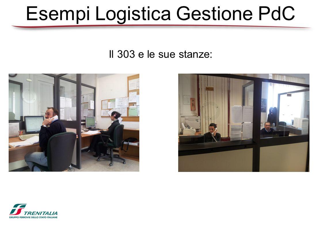 Esempi Logistica Gestione PdC Il 303 e le sue stanze: