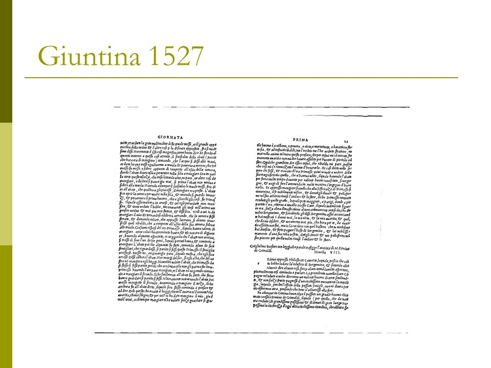In Italia 9 esemplari : Bologna Firenze Genova Modena Napoli Roma Casanatense Roma Nazionale Pescara Vicenza Contraffazione 1729 Firenze, 1527