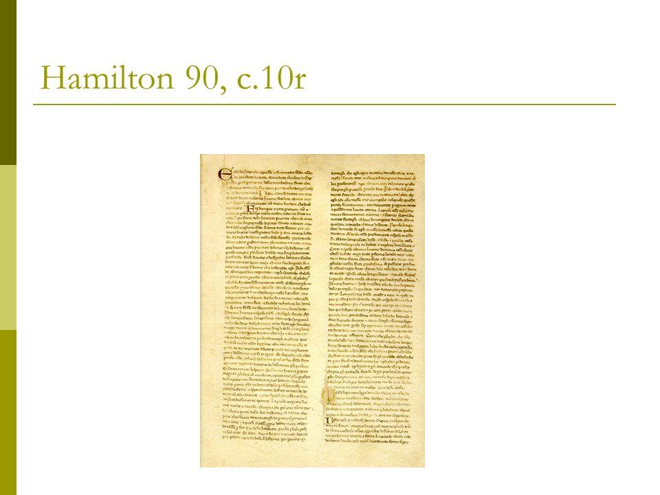Hamilton 90 Berlin, Staatsbibliothek Preussischer Kulturbesitz 112 cc.