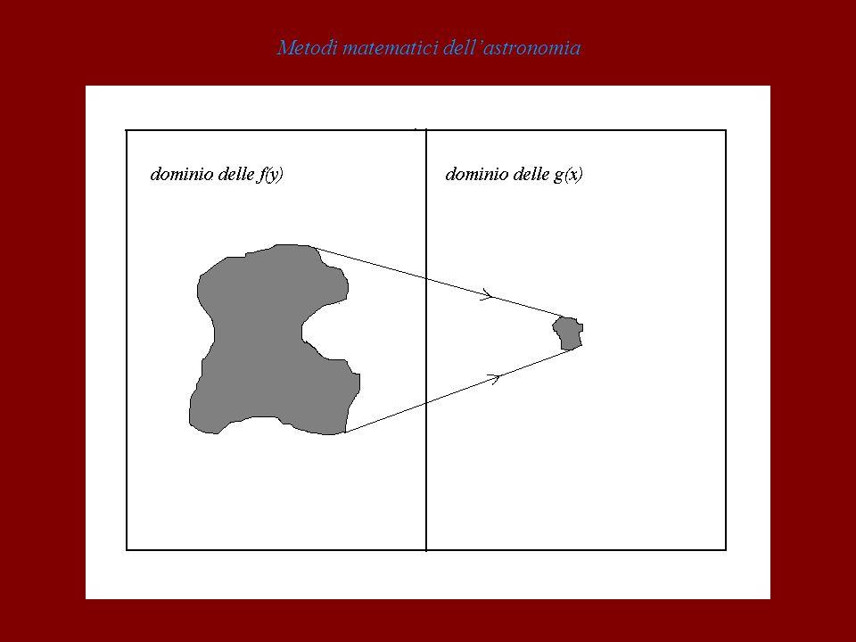 Metodi matematici dellastronomia