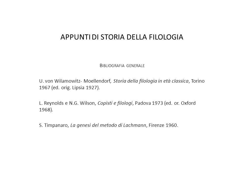 LINTERESSE FILOLOGICO NASCE IN ETÀ ELLENISTICA (323-31 A.C.) scienza della grammatica indagine etimologica studio delle parti del discorso IL MUSEO DI ALESSANDRIA (III SEC.