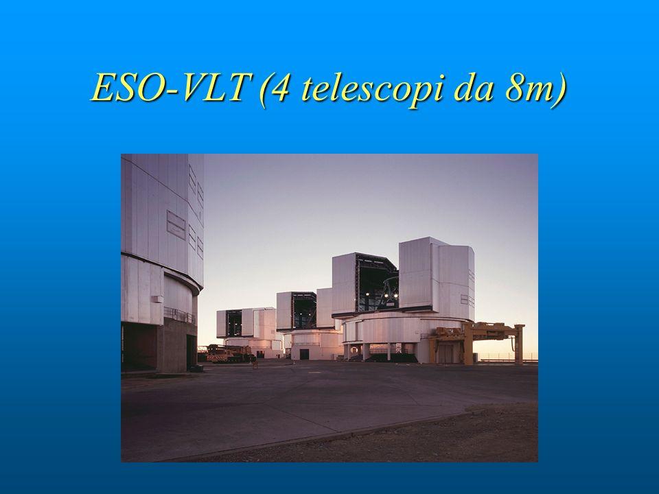 ESO-VLT (4 telescopi da 8m)