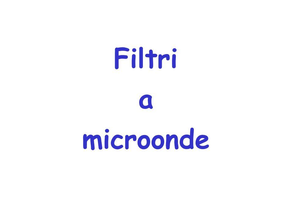 Filtri a microonde