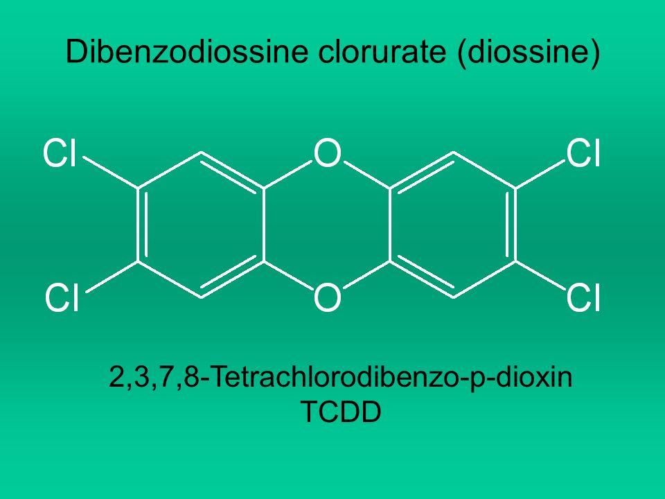 Dibenzodiossine clorurate (diossine) 2,3,7,8-Tetrachlorodibenzo-p-dioxin TCDD