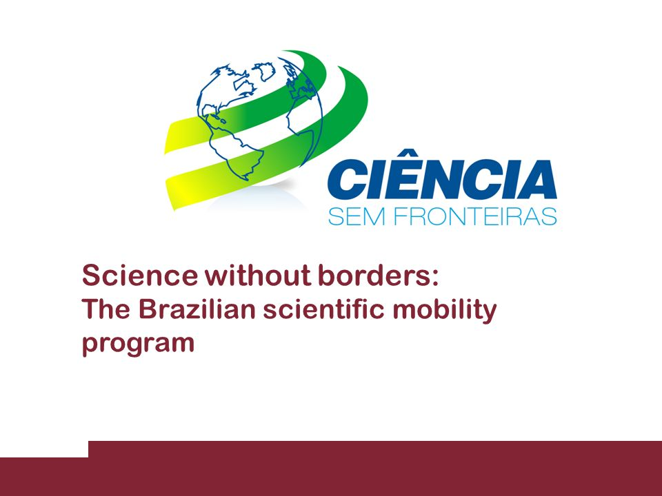 Science without borders: The Brazilian scientific mobility program