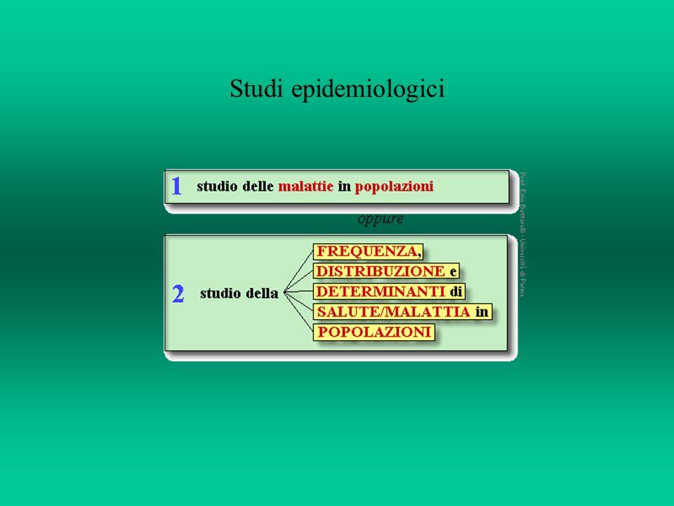 Gli studi di epidemiologia descrittiva possono monitorare lefficacia di misure sanitarie.
