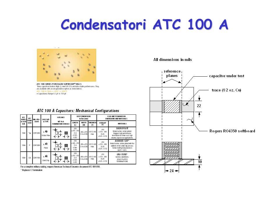 Condensatori ATC 100 A Condensatori ATC 100 A