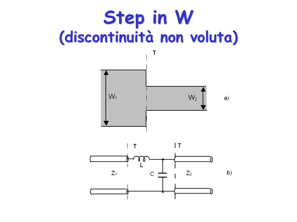 Step in W (discontinuità non voluta)