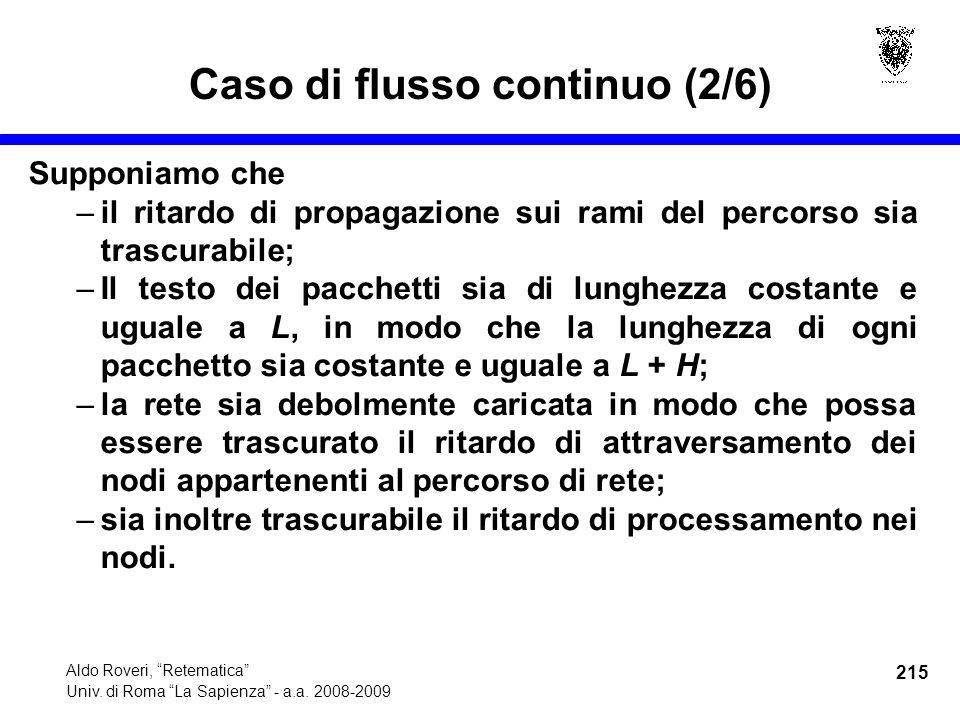 215 Aldo Roveri, Retematica Univ. di Roma La Sapienza - a.a.