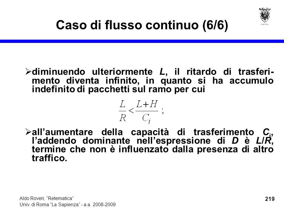 219 Aldo Roveri, Retematica Univ. di Roma La Sapienza - a.a.