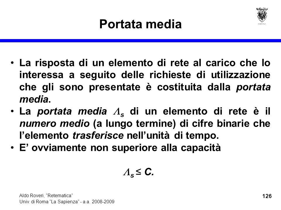 126 Aldo Roveri, Retematica Univ. di Roma La Sapienza - a.a.