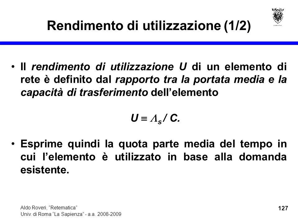 127 Aldo Roveri, Retematica Univ. di Roma La Sapienza - a.a.