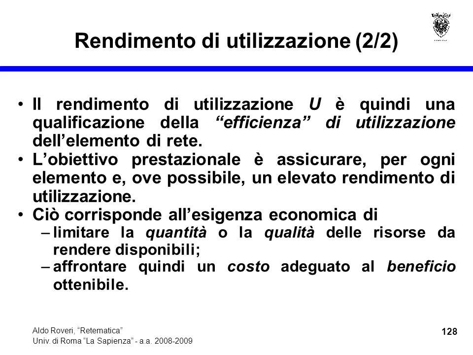 128 Aldo Roveri, Retematica Univ. di Roma La Sapienza - a.a.