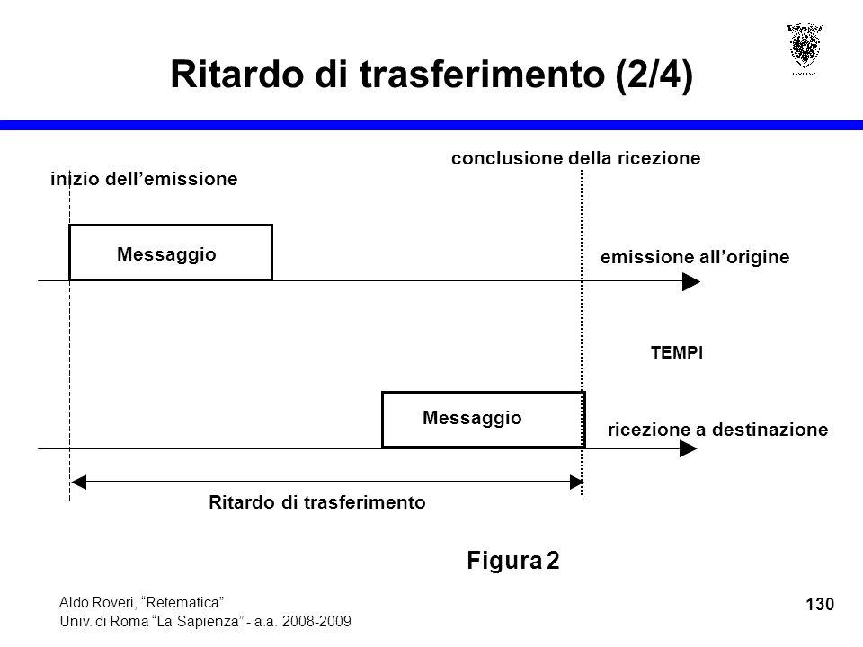 130 Aldo Roveri, Retematica Univ. di Roma La Sapienza - a.a.