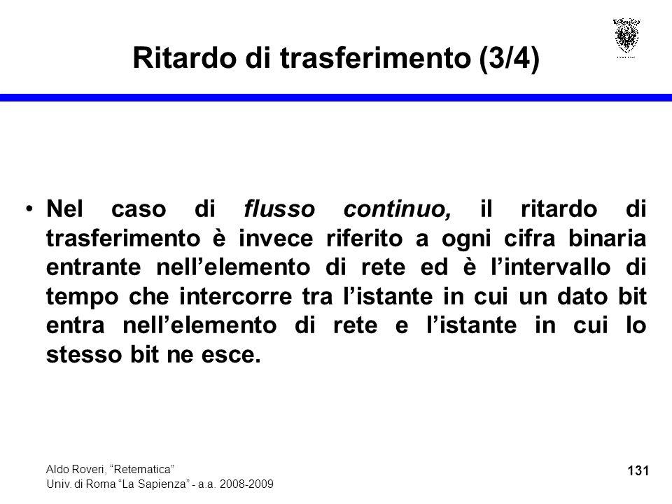 131 Aldo Roveri, Retematica Univ. di Roma La Sapienza - a.a.