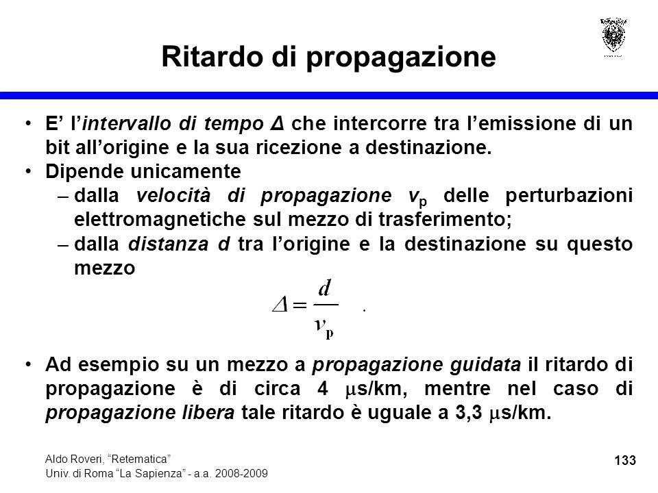 133 Aldo Roveri, Retematica Univ. di Roma La Sapienza - a.a.