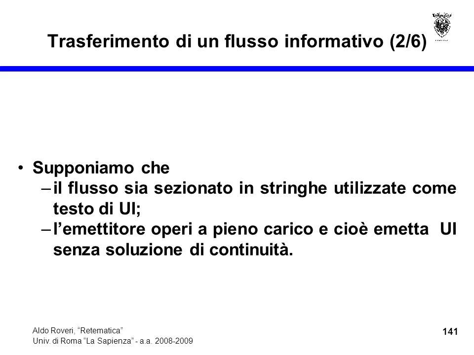 141 Aldo Roveri, Retematica Univ. di Roma La Sapienza - a.a.