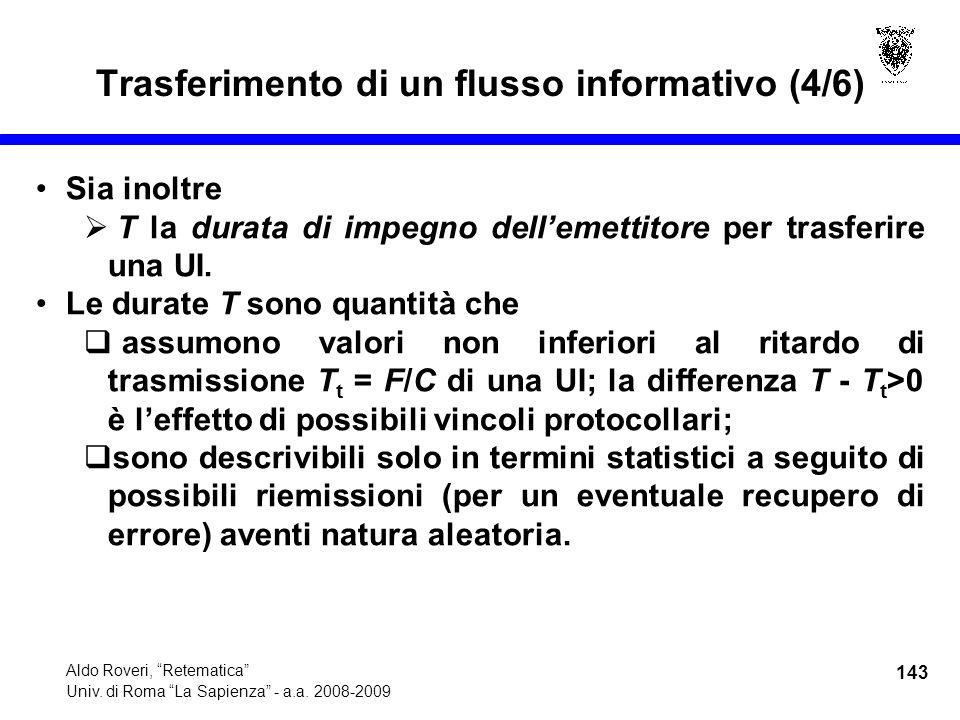 143 Aldo Roveri, Retematica Univ. di Roma La Sapienza - a.a.