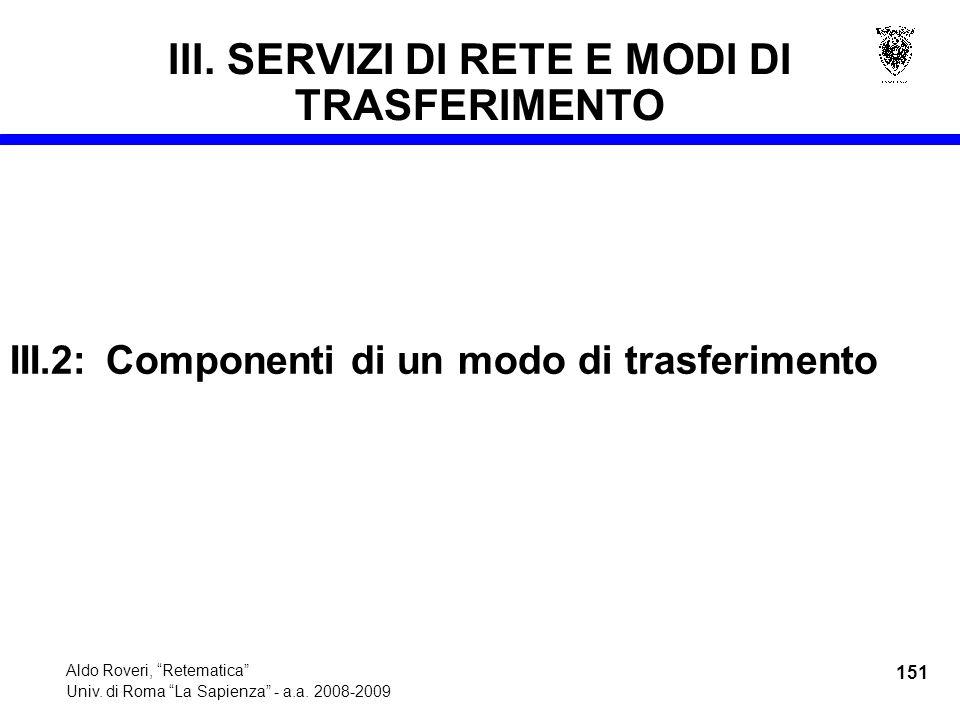 151 Aldo Roveri, Retematica Univ. di Roma La Sapienza - a.a.