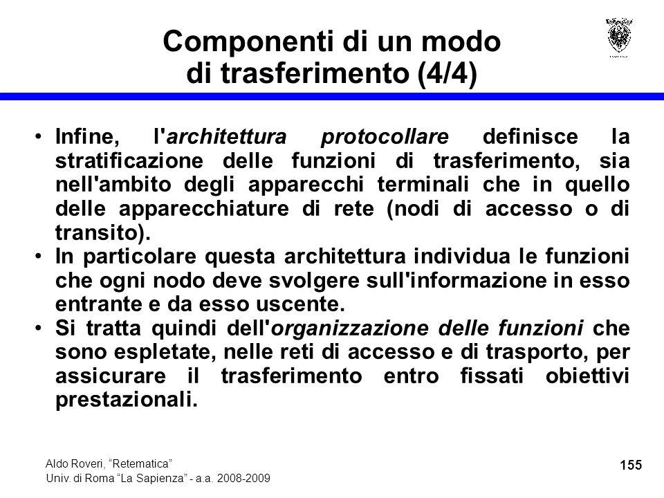 155 Aldo Roveri, Retematica Univ. di Roma La Sapienza - a.a.