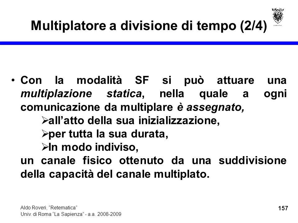 157 Aldo Roveri, Retematica Univ. di Roma La Sapienza - a.a.