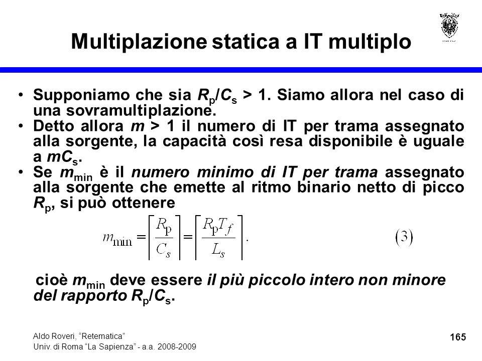 165 Aldo Roveri, Retematica Univ. di Roma La Sapienza - a.a.