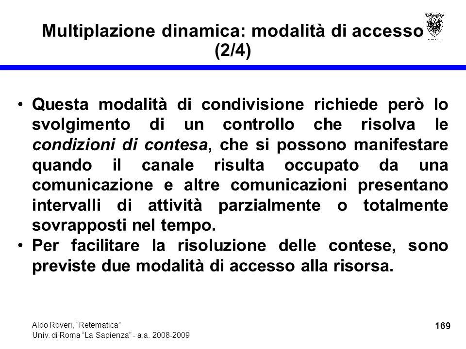 169 Aldo Roveri, Retematica Univ. di Roma La Sapienza - a.a.