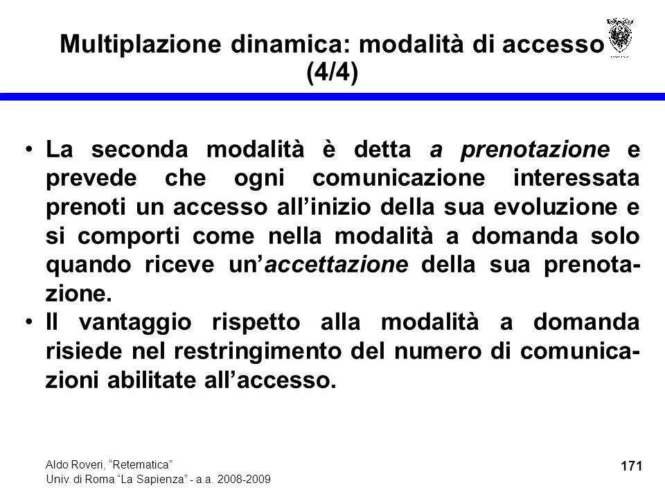 171 Aldo Roveri, Retematica Univ. di Roma La Sapienza - a.a.