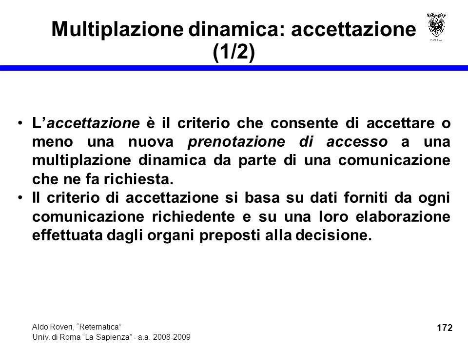 172 Aldo Roveri, Retematica Univ. di Roma La Sapienza - a.a.