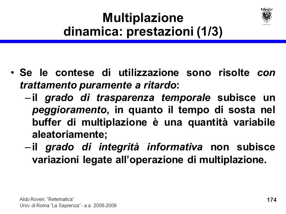 174 Aldo Roveri, Retematica Univ. di Roma La Sapienza - a.a.