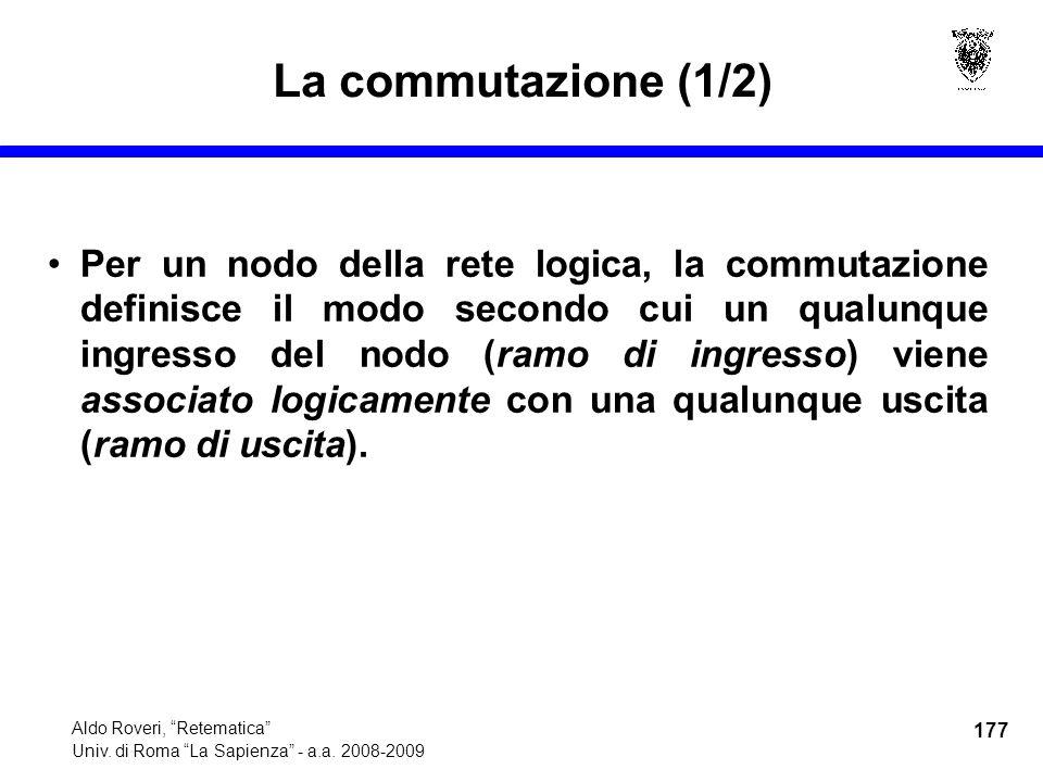 177 Aldo Roveri, Retematica Univ. di Roma La Sapienza - a.a.