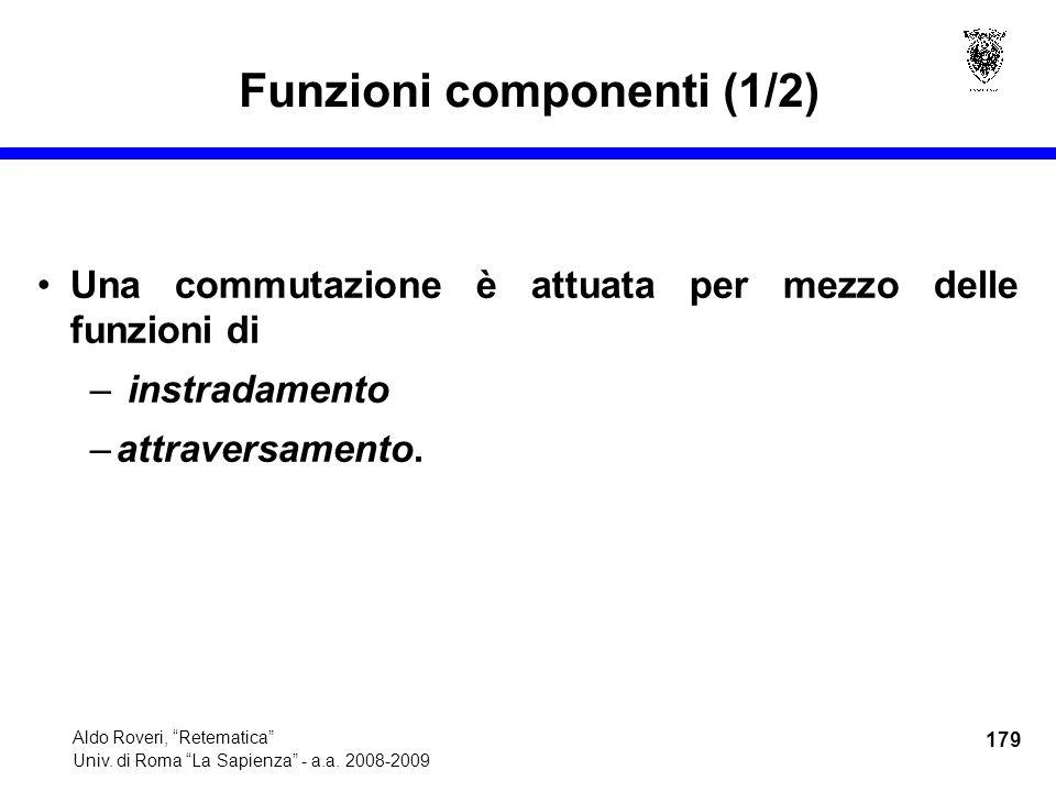 179 Aldo Roveri, Retematica Univ. di Roma La Sapienza - a.a.